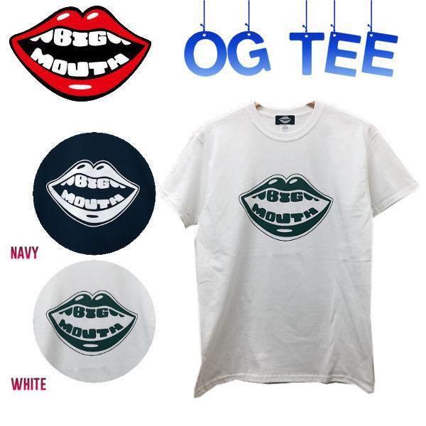 BIGMOUTH ビッグマウス OgTee メンズTシャツ 半袖ティーシャツ 男性向け M-2XL 2カラー|54tide