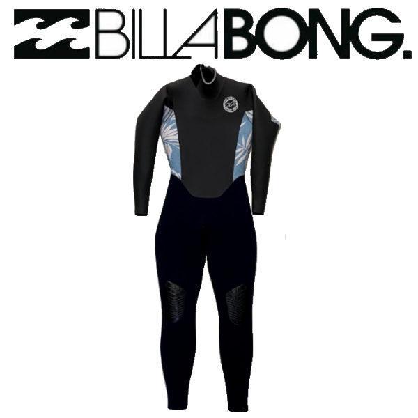 ビラボン BILLABONG レディース レディース  ウエットスーツ BACK ZIPPER セミドライ フルスーツ サーフィン 正規品