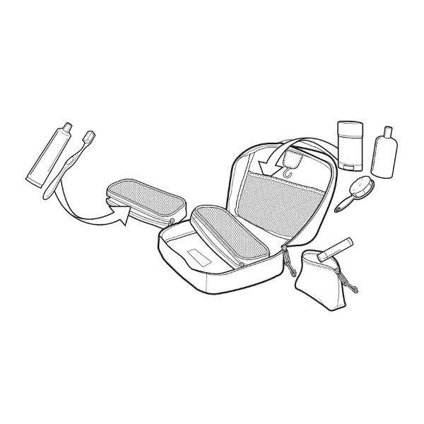 バートン BURTON メンズ レディース アクセサリーケース ポーチ バッグ バック 小物入れ High Maintenance Accessory Kit BURTON JAPAN正規品 54tide 06