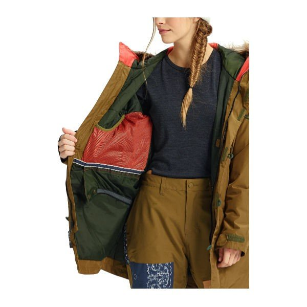 BURTON バートン レディース スノーウェア ジャケット アウター スノーボード BURTON JAPAN正規品 Womens Burton Shadowlight Parka Jacket 54tide 06