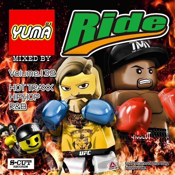 DJ YUMA RIDE Volume.132/HIP HOP R&B/MIX CD 54tide