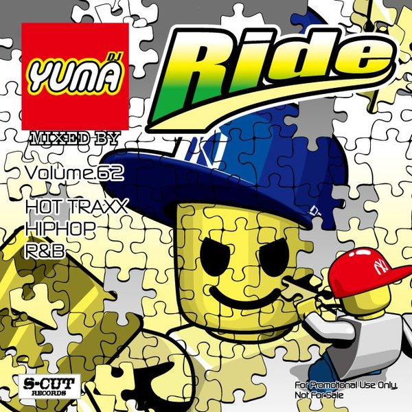 DJ YUMA RIDE Volume.62 HIP HOP R&B MIX CD|54tide