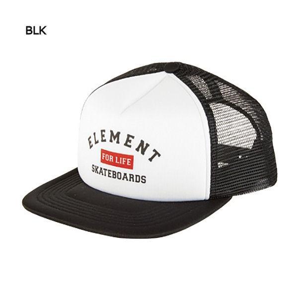 エレメント ELEMENT キッズメッシュキャップ スナップバック 帽子 ボーイズ ガールズ BLK FBK LBE RED RIFT TRUCKER|54tide|02