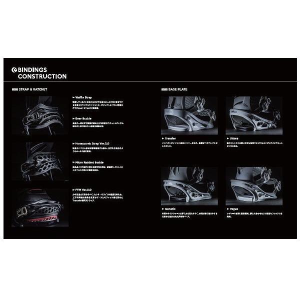 予約受付中 FLUX BINDING フラックス バインディング GS ウーマンズ レディース スノーボード バインディング オールラウンド  パーク  パウダー|54tide|06