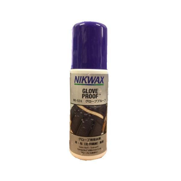 ニクワックス NIKWAX グローブプルーフ グローブ用撥水剤 皮・布(化学繊維)兼用 125ml GLOVE PROOF