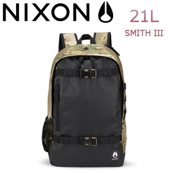 ニクソン NIXON メンズバックパック リュックサック バッグ 鞄 21L MULTICAM SMITH III BACKPACK|54tide