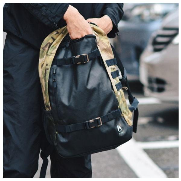 ニクソン NIXON メンズバックパック リュックサック バッグ 鞄 21L MULTICAM SMITH III BACKPACK|54tide|03