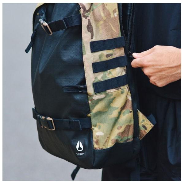 ニクソン NIXON メンズバックパック リュックサック バッグ 鞄 21L MULTICAM SMITH III BACKPACK|54tide|04