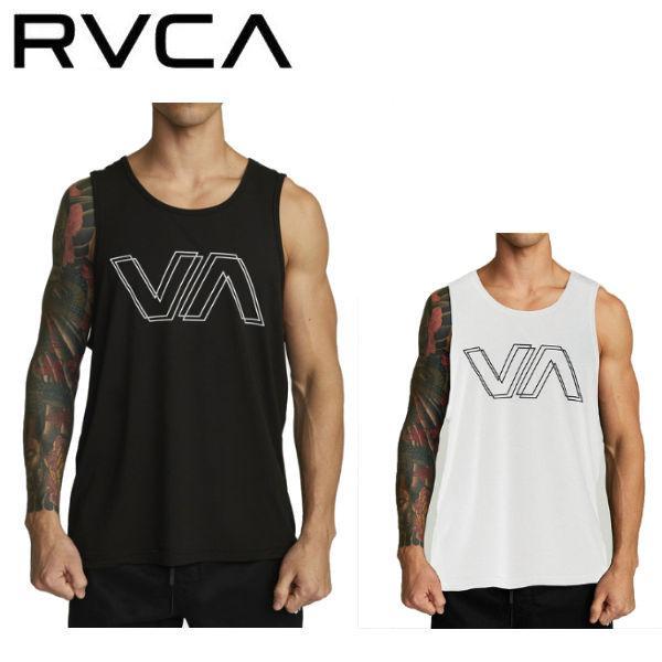 ルーカ RVCA メンズ VA OFFSET TANK ラッシュガード トレーニング ジム ラッシュタンク サーフィン