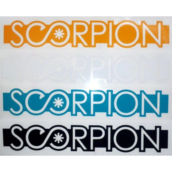 スコーピオン SCORPION ロゴカッティングステッカー|54tide