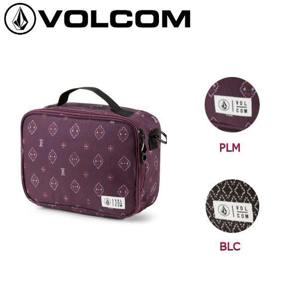 ボルコム VOLCOM ランチボックス お弁当 ショルダーストラップ付き 3.5L 2カラー BROWN BAG LUNCH BOX
