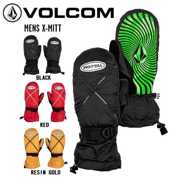 ボルコム VOLCOM 2020-2021 MENS X-MITT メンズ レディース ミトングローブ スノーボード スキー  手袋 ミトングローブ スノーグローブ XS-L 3カラー 【正規品】