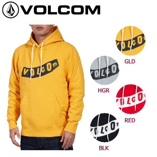 ボルコム VOLCOM メンズ プルオーバーパーカー パーカ フード 長袖 裏パイル地 M-XL 4カラー 正規品 PISTOL P/O|54tide