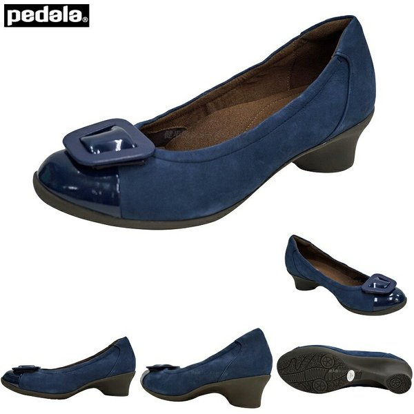 アシックス/ペダラ/レディース/靴/WP563P/WP-563P/Nネイビーブルー/EE/2E(ラウンド)/asics/pedala/