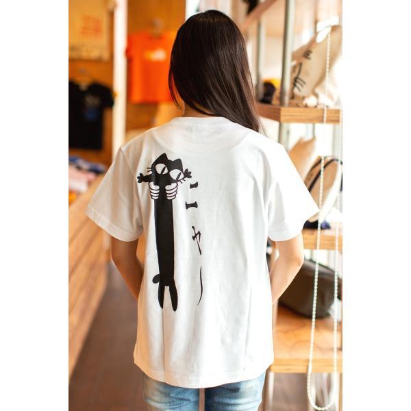 猫 Tシャツ メンズ レディース 半袖 LOVE CAT - ホワイト おもしろ ネコ ねこ 猫柄 雑貨 - メール便 - SCOPY スコーピー 55scopy 02