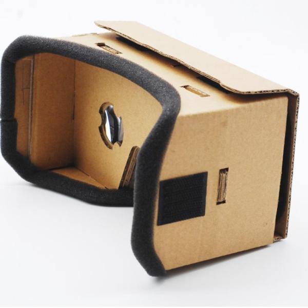 バーチャルリアリティメガネグーグルボール紙3DメガネVRボックスムービーfor iPhone 5 6 7スマートフォン