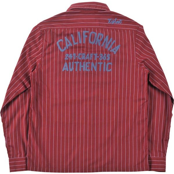 HiLDK(ハイエルディーケー) STRIPE SHIRT L/S - CALIFORNIA -|7-seven|03