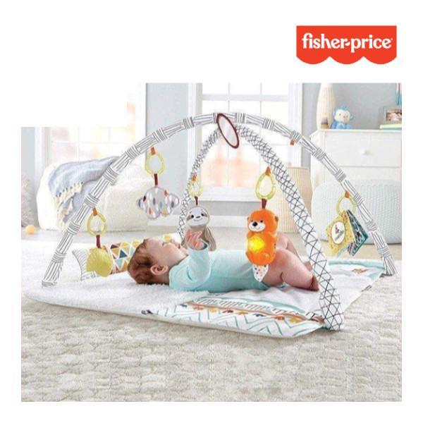 ベビージム パーフェクトセンス デラックスジム マテル フィッシャープライス ベビー 赤ちゃん お祝い おもちゃ プレイジム おすすめ 男 女 一部地域 送料無料 716baby