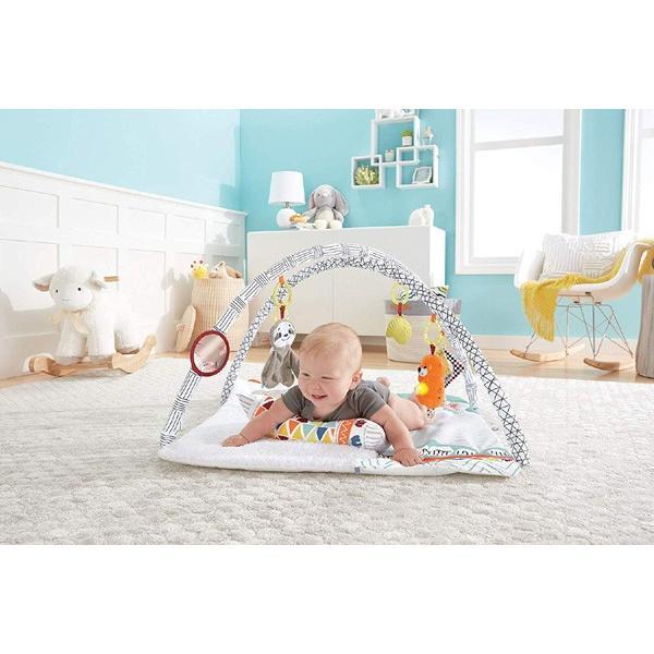 ベビージム パーフェクトセンス デラックスジム マテル フィッシャープライス ベビー 赤ちゃん お祝い おもちゃ プレイジム おすすめ 男 女 一部地域 送料無料 716baby 06
