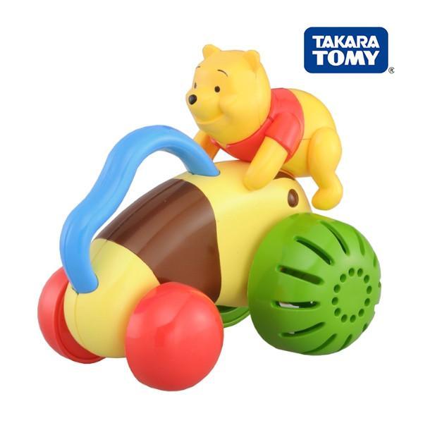 くまのプーさん おててでブーブー タカラトミー Takara Tomy Disney Pooh おもちゃ toys ギフト ガラガラ ラトル 誕生日プレゼント 知育玩具 発育