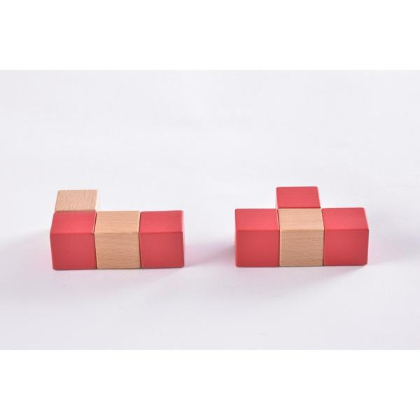 子ども用パズル 空間パズル くもん出版 KUMON 公文 知育玩具 学習 積木 木製 おもちゃ 誕生日 ギフト お祝い プレゼント キッズ 男の子 女の子 716baby 03