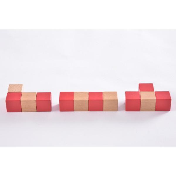 子ども用パズル 空間パズル くもん出版 KUMON 公文 知育玩具 学習 積木 木製 おもちゃ 誕生日 ギフト お祝い プレゼント キッズ 男の子 女の子 716baby 05