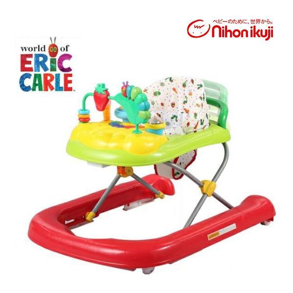 正規品 歩行器 ベビー はらぺこあおむし 2in1ウォーカー 日本育児 エリックカール 赤ちゃん ベビー キッズ 子供 baby kids おもちゃ 乗り物 一部地域 送料無料
