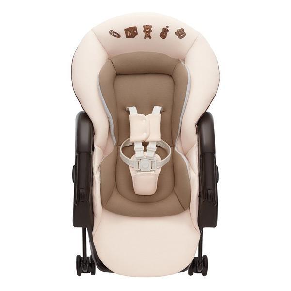 ハイローラック ユラリズム ソフトクッション EW ヘーゼル IV  アップリカ Aprica ハイローチェア 手動 ベビー マタニティ 赤ちゃん 新生児 一部地域 送料無料|716baby|03