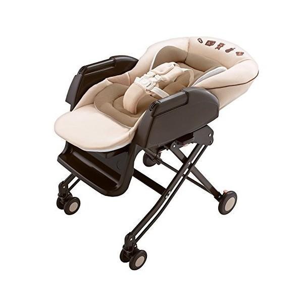ハイローラック ユラリズム ソフトクッション EW ヘーゼル IV  アップリカ Aprica ハイローチェア 手動 ベビー マタニティ 赤ちゃん 新生児 一部地域 送料無料|716baby|05