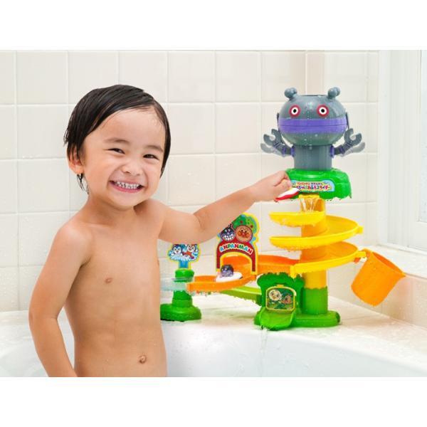 お風呂のおもちゃ アンパンマンとだだんだん ジャバジャバおふろスライダー おもちゃ バストイ キッズ 子ども 男の子 女の子 誕生日 プレゼント ギフト|716baby|03