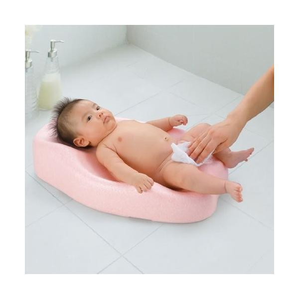 お風呂 バス用品 ひんやりしない おふろマットR リッチェル 新生児 赤ちゃん 出産 ママ ベビーバス ベビーバスチェア おふろ オフロ お風呂 baby bath|716baby|03