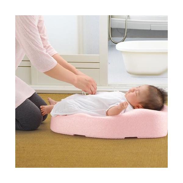 お風呂 バス用品 ひんやりしない おふろマットR リッチェル 新生児 赤ちゃん 出産 ママ ベビーバス ベビーバスチェア おふろ オフロ お風呂 baby bath|716baby|04