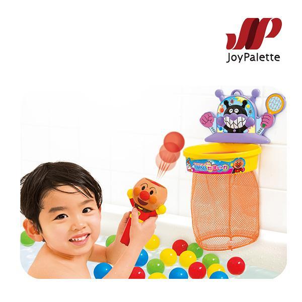 お風呂のおもちゃ アンパンマンでポン!おふろたまいれ おもちゃ バストイ ジョイパレット キッズ 誕生日 ギフト プレゼント お祝い 男の子 女の子 おすすめ|716baby