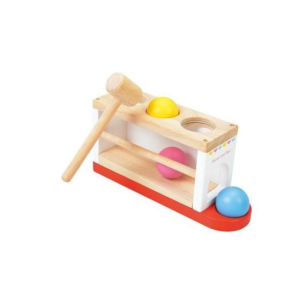 おもちゃ 木製 知育 ニチガンオリジナル  LG2 リサとガスパール とんとんボール リサガス ギフト 誕生日 プレゼント SNS|716baby|03