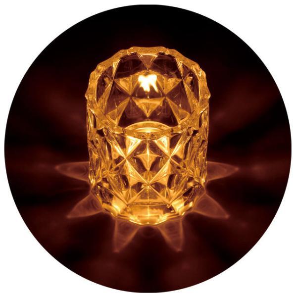 キャンドルホルダー キャンドルグラス キャンドルスタンド ガラス アンティーク 間接照明 寝室 ロンバス おしゃれ かわいい 雑貨