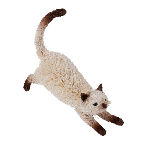 アジアン エスニック 雑貨 置物 オブジェ たわしアニマル ネコ M81-1492 かわいい おしゃれ インテリア 動物 おもしろ