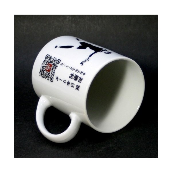 QRコード彫刻マグカップ 写真&名入れ彫刻入り|7colors-glassart|14