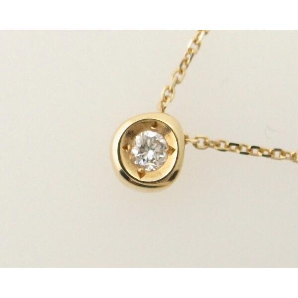 スカラベ ダイヤモンドネックレス K18(18金 イエローゴールド) 0230359 質屋出品|7saito|03