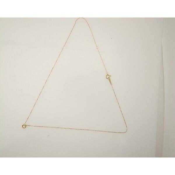 スカラベ ダイヤモンドネックレス K18(18金 イエローゴールド) 0230359 質屋出品|7saito|04