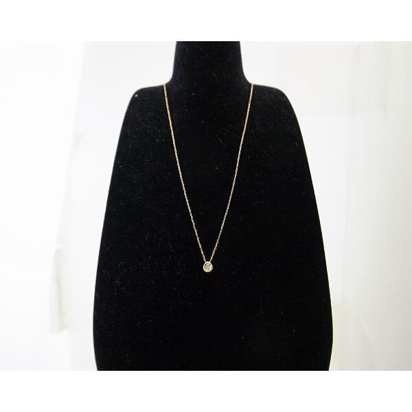 スカラベ ダイヤモンドネックレス K18(18金 イエローゴールド) 0230359 質屋出品|7saito|06