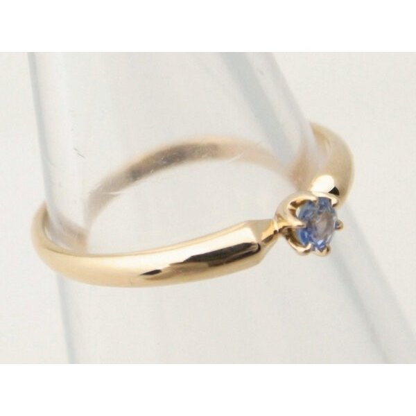 4℃ 青石リング K18YG(18金 イエローゴールド) 12号 一粒 指輪 質屋出品|7saito|03