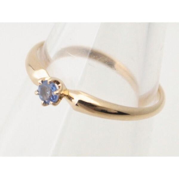 4℃ 青石リング K18YG(18金 イエローゴールド) 12号 一粒 指輪 質屋出品|7saito|04
