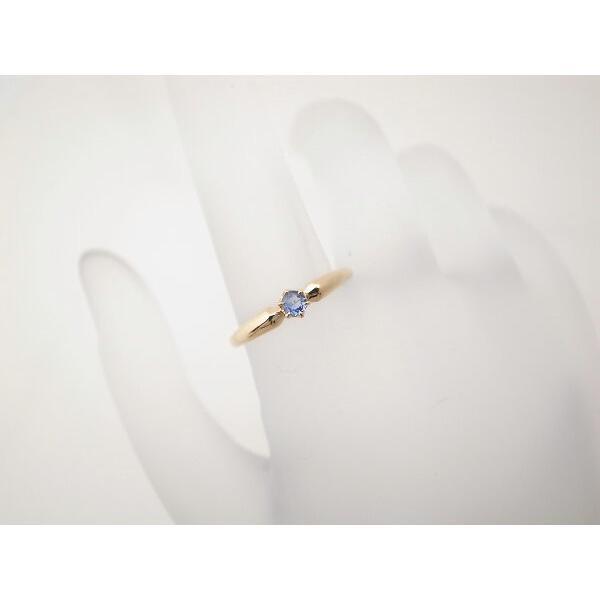 4℃ 青石リング K18YG(18金 イエローゴールド) 12号 一粒 指輪 質屋出品|7saito|06