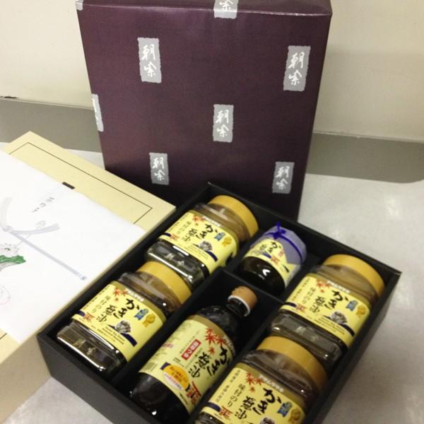 法事ギフト 茶の子に選ばれています アサムラサキ 朝紫 かき醤油のり佃煮セット KT-30 福山 セブントップ|7top|03