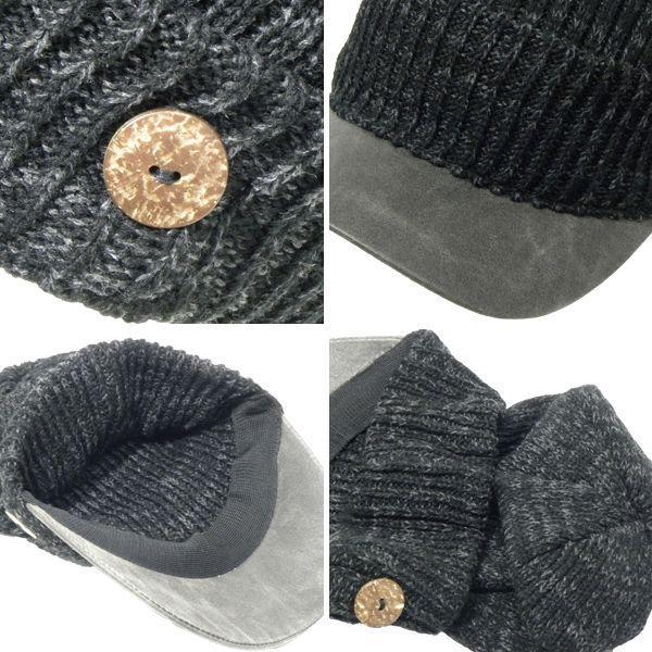 ニット帽 メンズ 帽子 レディース キャスケット ニット ニット帽子 キャップ|8-eight|04