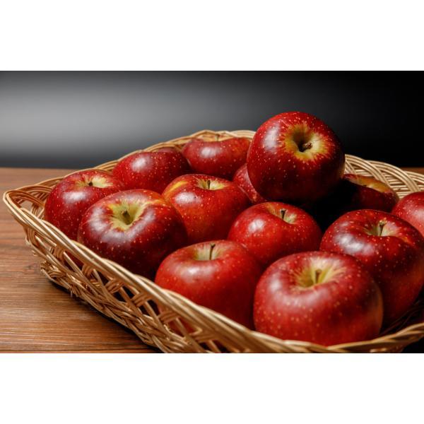 【2021年10月出荷】減農薬 シナノスイート りんご B品 約9kg 16〜50個入 長野産リンゴ 林檎 産地直送 小山 SSS 10g