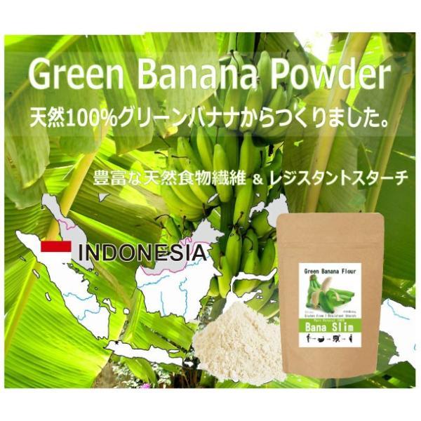【Bana Slim】天然100%グリーンバナナパウダー!レジスタントスターチ豊富でグルテンフリー|83laboyashop|05