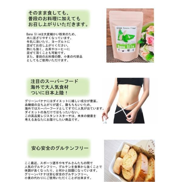 【Bana Slim】天然100%グリーンバナナパウダー!レジスタントスターチ豊富でグルテンフリー|83laboyashop|06