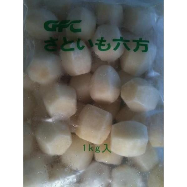 里芋六方(S)1kg×10P(P650円税別)中国産 業務用 ヤヨイ