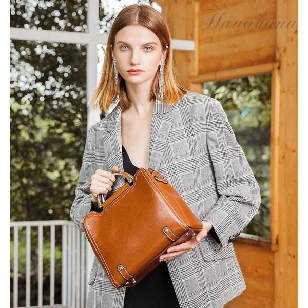 ハンドバッグ レディース 本革 牛革 可愛い ショルダー付き 斜めがけ 軽量 シンプル カジュアル 旅行 肩掛け レディースバッグ 鞄|8787-store|11